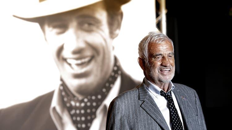 Jean-Paul Belmondo starb im alter von 88 Jahren. (Laurent Cipriani / AP)