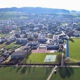 Blick auf das Schulareal Grünau. (Bild: Olaf Kühne)