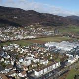 Sollen besser miteinander verbunden werden: der Gäupark (hinten) und der Rest der Gemeinde Egerkingen. (Bruno Kissling)