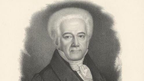 Porträt des Johann Morell (1759–1835). (Bild: PD/Zentralbibliothek Zürich)