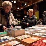 Das Buchfestival Olten wurde letztmals 2019 durchgeführt. Auf dem Bild der Eröffnungsabend im Kulturzentrum Schützi. (Bruno Kissling)