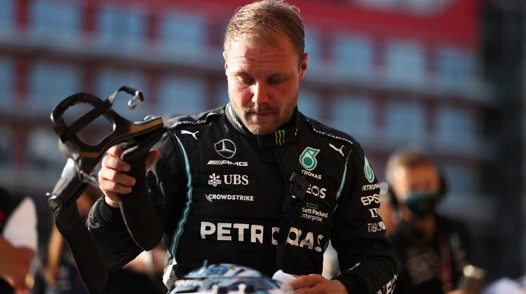 Valtteri Bottas verlässt das Mercedes-Team und fährt kommende Saison für Alfa-Sauber. (Keystone)
