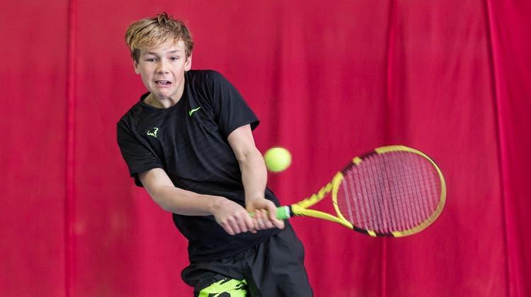 Felix Messmer kämpft in der U16-Kategorie um den Titel (Fabio Baranzini / ATV)