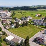 Die Stadt Gossau will das Grundstück zwischen der Bischofszeller- und der Nelkenstrasse überbauen lassen. (Bild: Tobias Garcia (7. September 2021))
