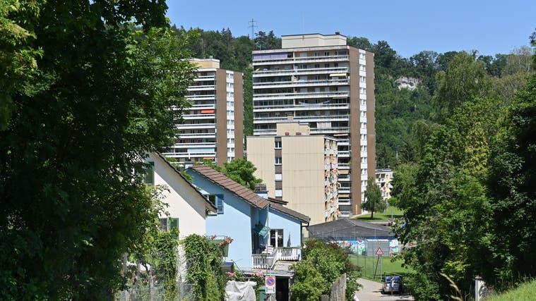 Plädiert auf finanzielle Entlastung: Trimbach hat eine hohe Quote an Sozialhilfefällen. Im Bild die Wohnsiedlung Rankwog. (Bruno Kissling)