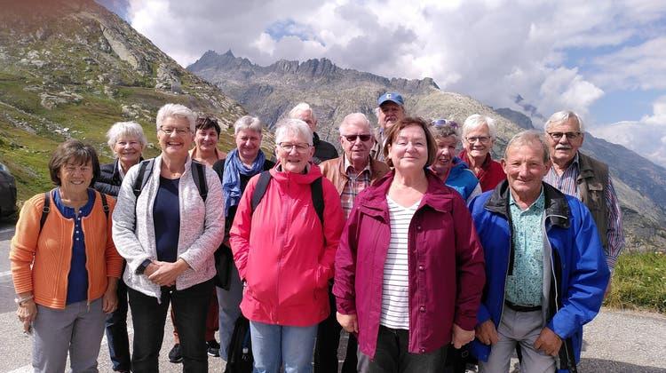 Der Rest des gemischten Chors Villigen mit einigen ehemaligen und Gastsängerinnen auf der letzten Vereinsreise. (Bild: zvg)