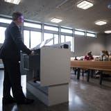 Studierende durften bereits Ende April zurückkehren, nun öffnet die Uni St.Gallen die Hörsäle auch wieder für die Öffentlichkeit. (Bild: KEY)