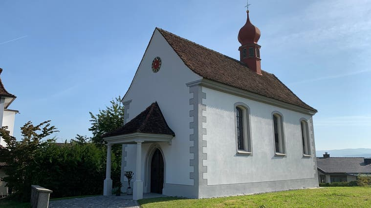 Die Johanneskapelle in Aristau wurde 1521 errichtet. (Pascal Bruhin)