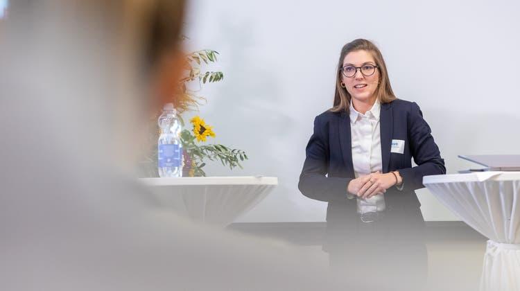 Die Nationalrätin der Grünen, Franziska Ryser, fordert mehr Angebote für ältere Arbeitnehmende. (Fabio Baranzini)