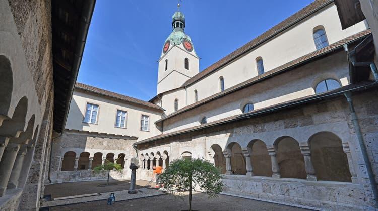 Kreuzgang der christkatholischen Stiftskirche St. Leodegar in Schönenwerd. (Bruno Kissling)
