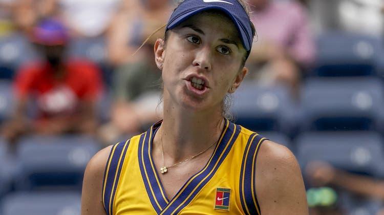 Belinda Bencic scheitert in den Viertelfinals der US Open. (John Minchillo / AP)