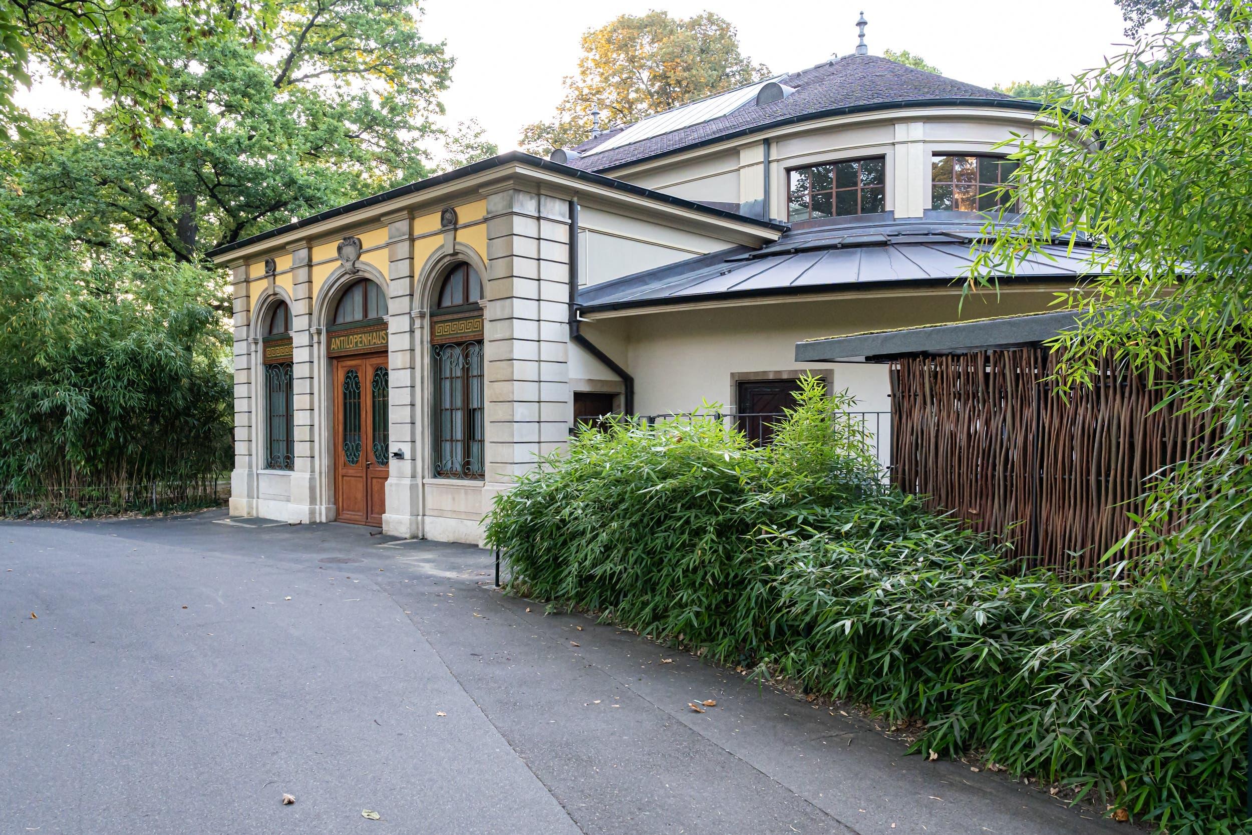 Das Antilopenhaus wurde 1909 gebaut...