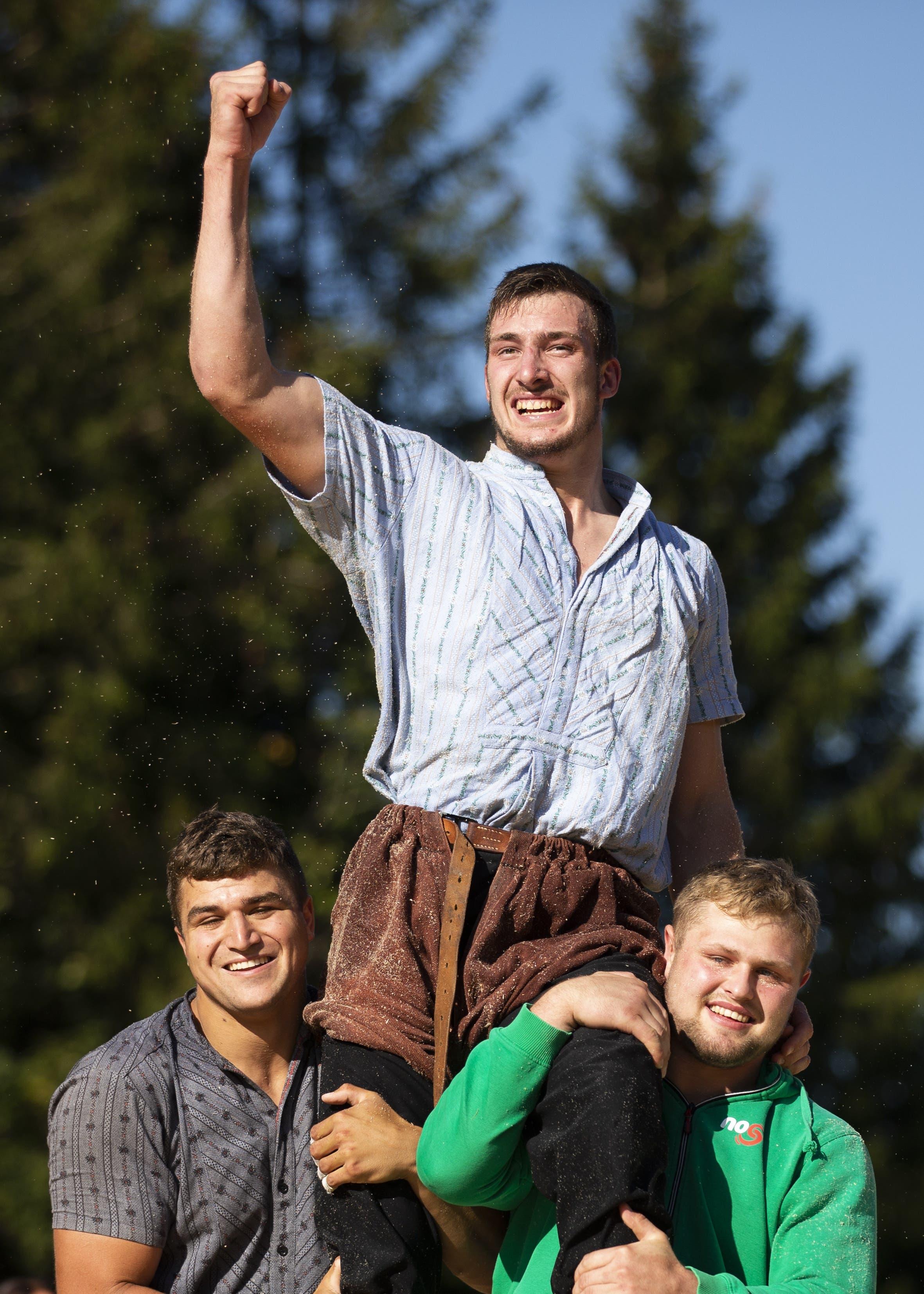 Damian Ott: Der 21-jährige Toggenburger ist mit zwei Bergkranzfestsiegen der Aufsteiger der Saison.