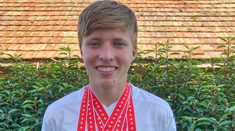 Miguel Forster, 15 Jahre, Mitglied der LAR Bischofszell, hat an den U16-Leichtathletik-Meisterschaften abgeräumt. (Bild: PD)