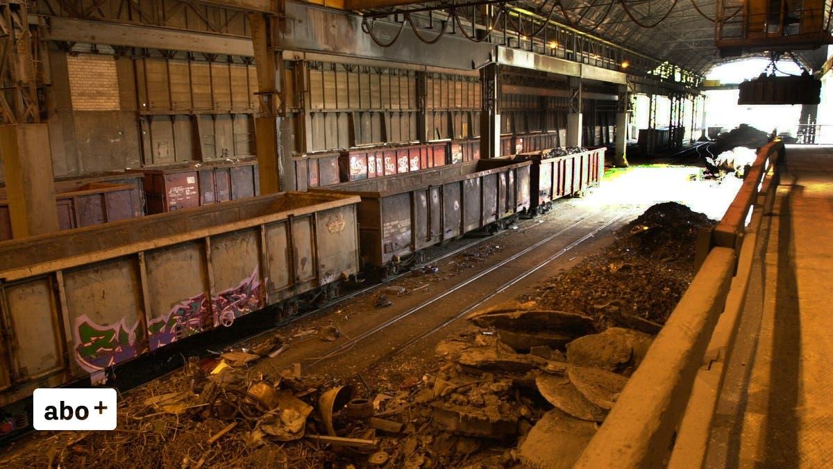 Schrott-auf-die-Schiene-dank-neuem-Vertrag-zwischen-SBB-Cargo-und-Stahl-Gerlafingen-werden-j-hrlich-4000-Lastwagenfahrten-eingespart