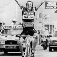 Als die Ostschweizer der Tour de France den Stempel aufdrückten – grosse Siege und ein Geschwindigkeitsrekord