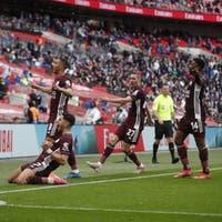 Leicester holt dank Traumtor den FA Cup– AS Roma gewinnt Stadtduell