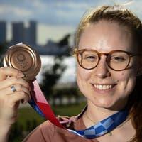 Gewehrschützin Nina Christen sorgt mit Bronze für erste Schweizer Medaille – vor fünf Jahren putzte sie noch für Geld