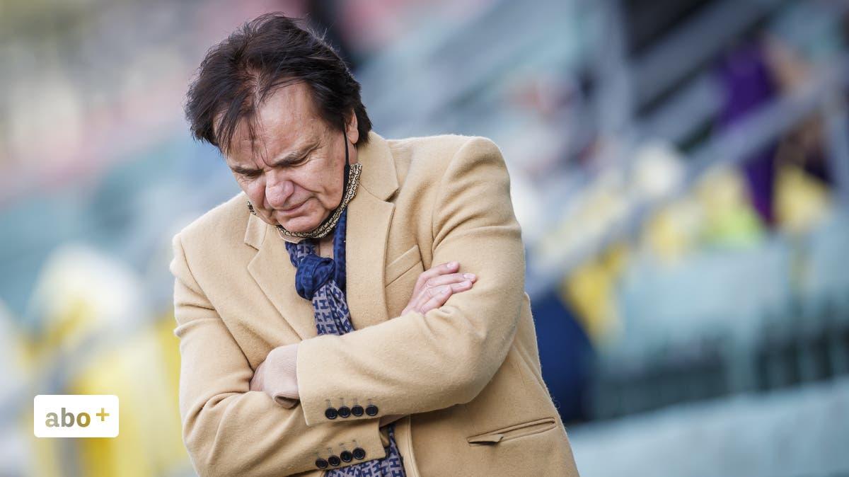 Super League - «Wir müssen froh sein, wenn wir die Barrage erreichen»: Sion-Präsident Christian Constantin vor dem brisanten Spiel beim FCSG