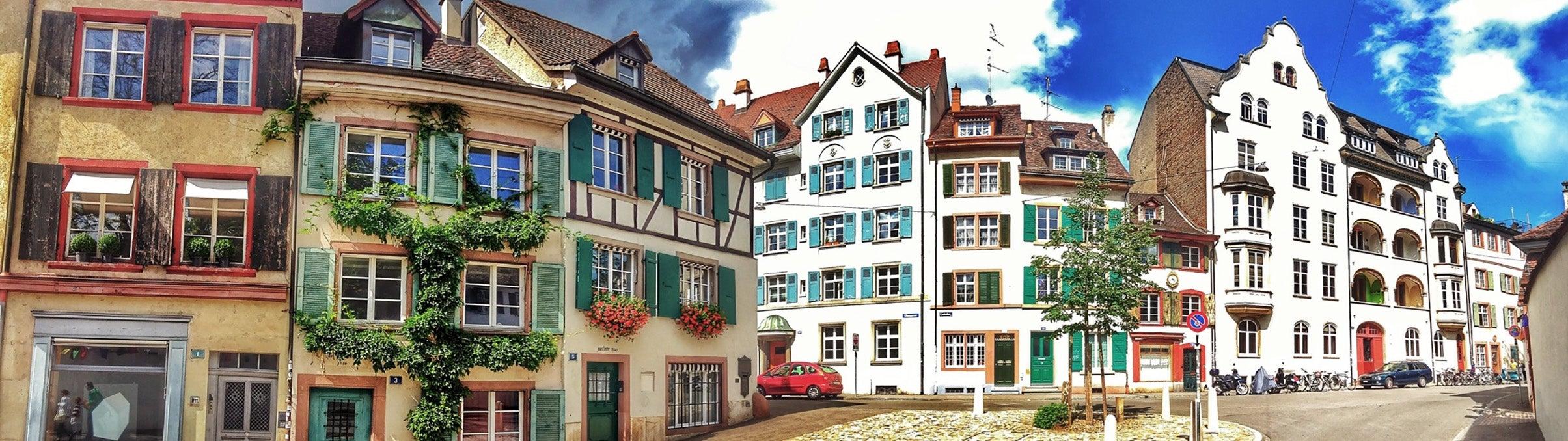Basel, Altstadt Kleinbasel